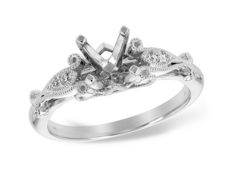 solitaire ring 18 karat