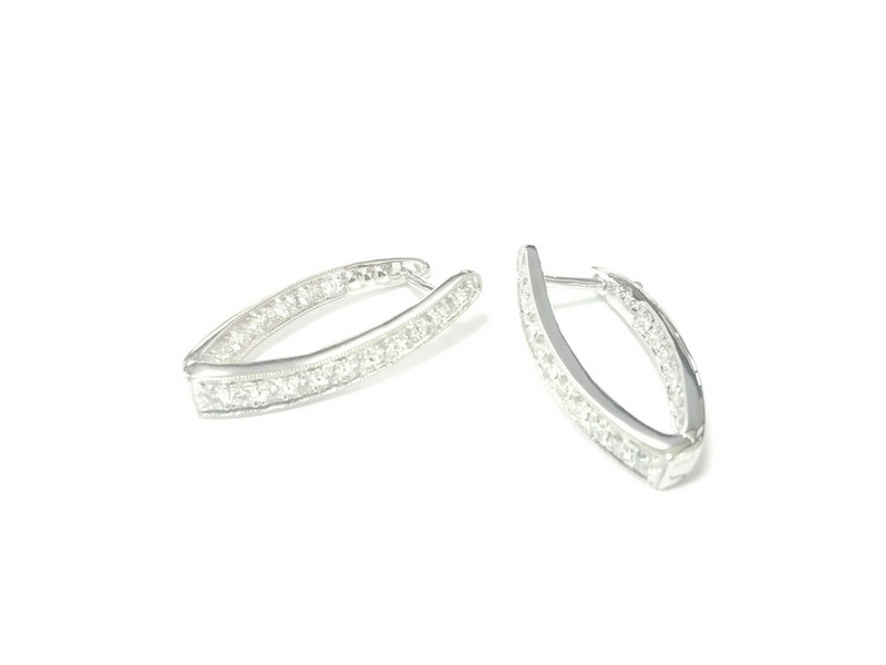 Diamond Earrings by Jye