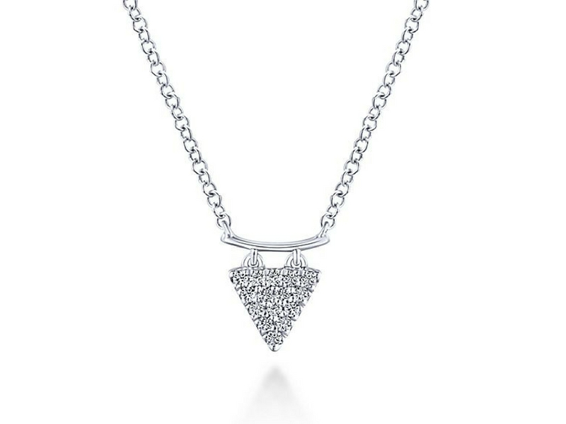 Diamond Pendant by Gabriel & Co