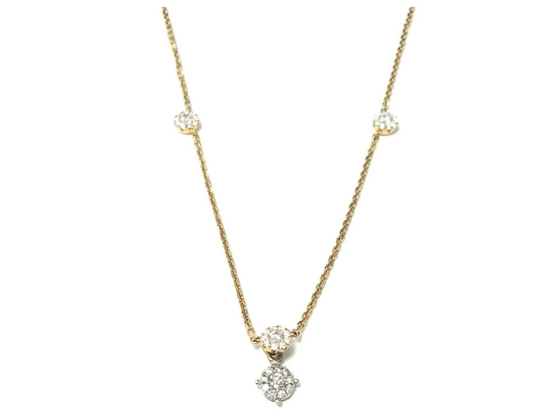 Diamond Necklace by Jye