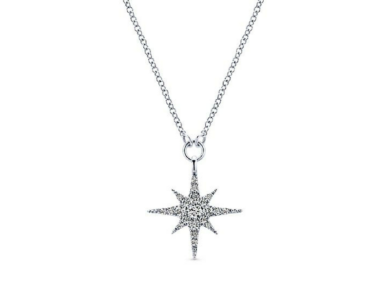 Diamond Necklace by Gabriel & Co