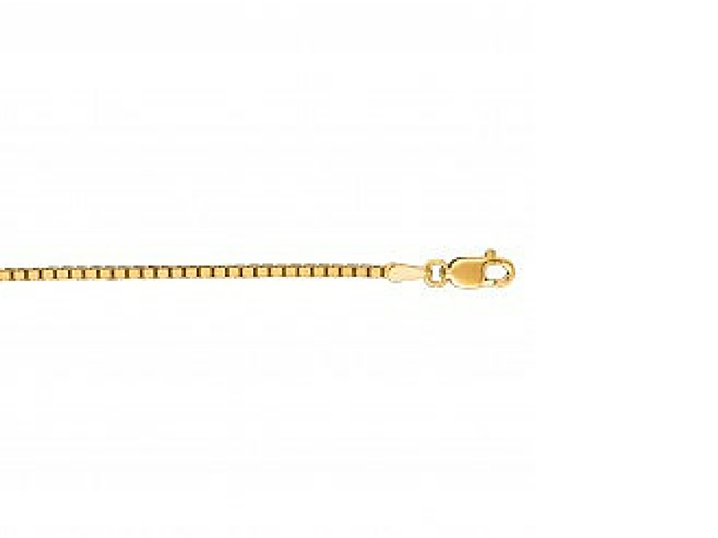 "14K 16"" Box Chain Necklace by Royal Chain"
