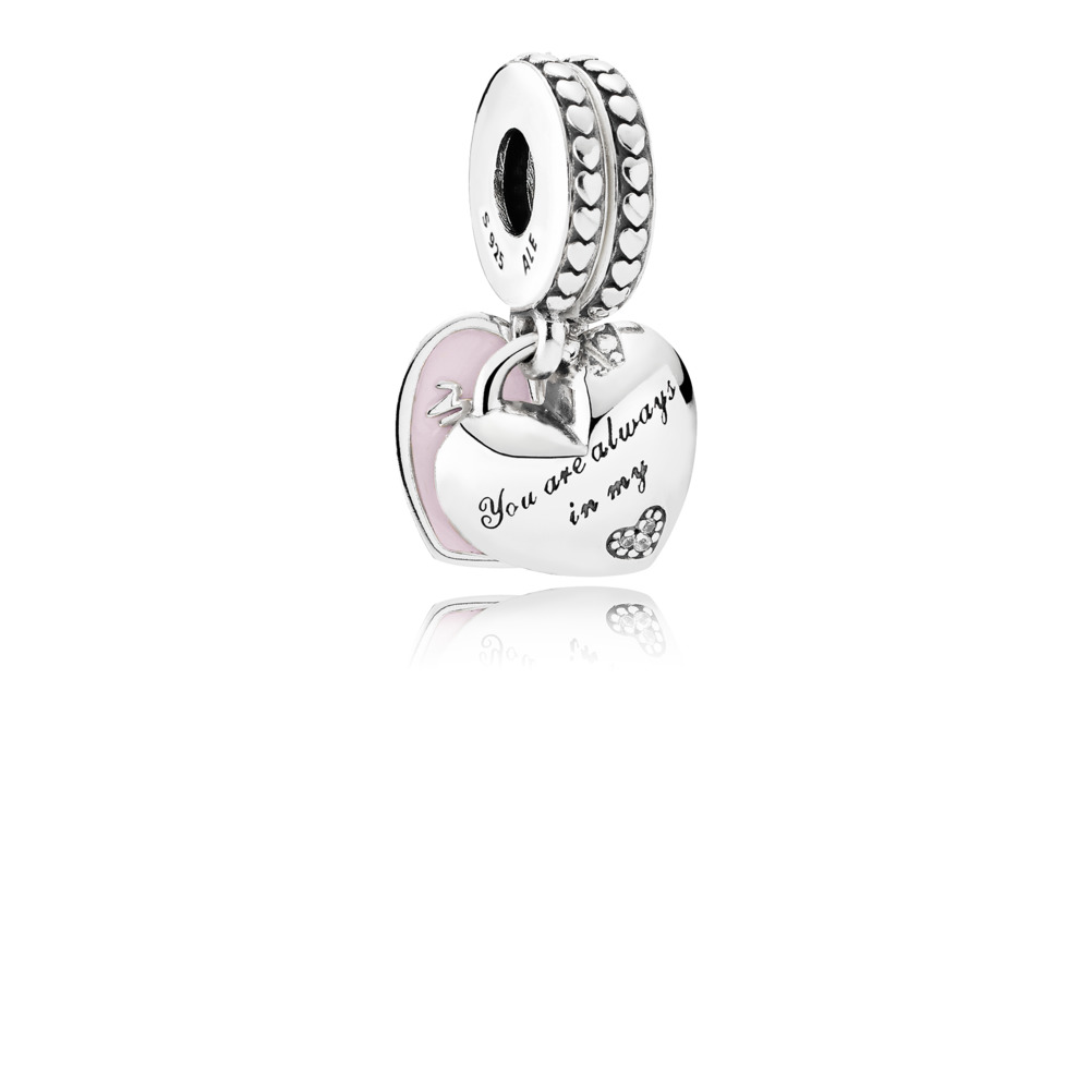 Mother & Daughter Hearts Dangle Charm by Pandora