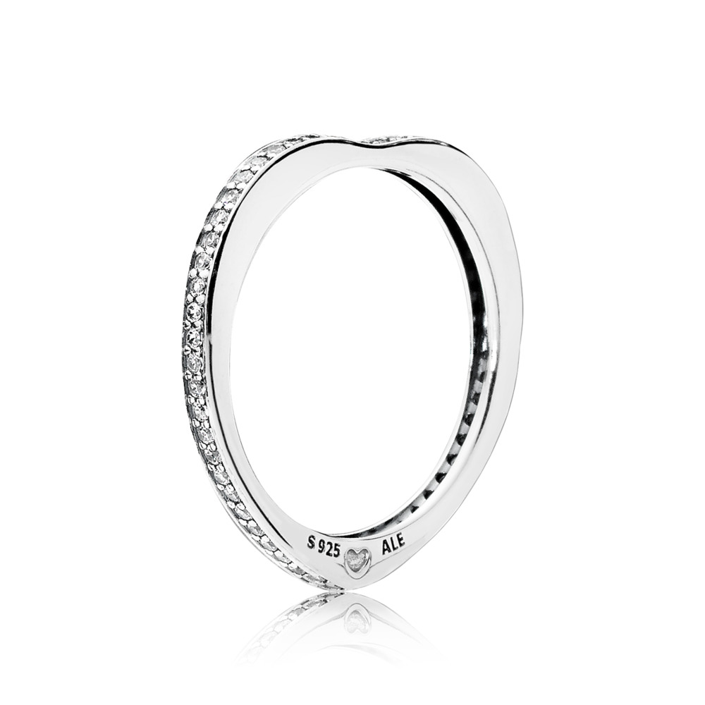 Sparkling Arcs of Love Ring by Pandora