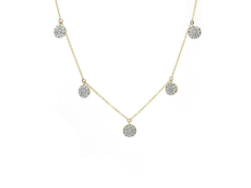 Diamond Necklace by Secure Hoop