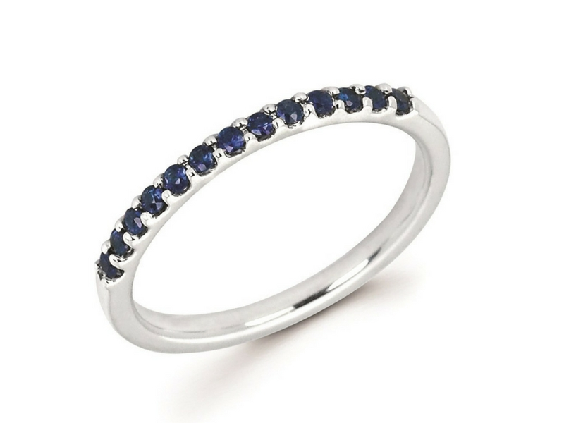 10K Gold Sapphire Ring by Ostbye